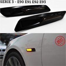 2 FRECCE Laterali 18 LED per BmwSerie 3 E90 E91 E92 E93 Lente Fumé Canbus Tunin