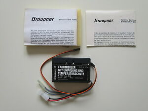 Graupner Varioprop Fahrtregler mit Umpolung - Nr.3798 - neu und unbenutzt in OVP