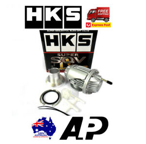 HKS SQV SSQV 4 IV BOV TURBO BLOW OFF VALVE FITS FORD XR6 GE6 F6 TYPHOON SILVER