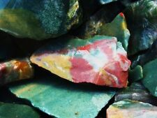 2000 Carat Lots of Bloodstone Rough - Plus a Very Nice FREE Faceted Gemstone