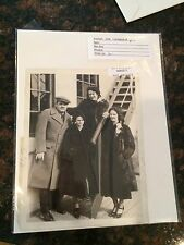 1937 Babe Ruth New York Yankees Legend & Family - Vintage Original Photo
