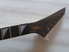 Unfinished Guitar Neck left hand Ebony Fretboard 24 Fret for Jackson style