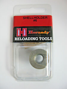 Hornady 390546 Solid Steel Shell Holder #6