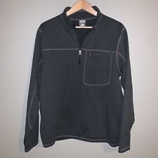 Nike Acg 90's Thermal Layer 1/2 Zip Fleece Pullover Mens L Gray