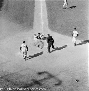 Hobie Landrith Catcher 1959 SF Giants Original B&W 2 x 2 Negative