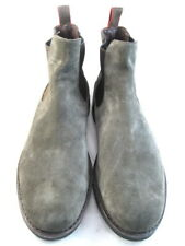 """NEW Allen Edmonds """"NOMAD"""" Chelsea Suede Boots 11.5 B Grey   (304)"""