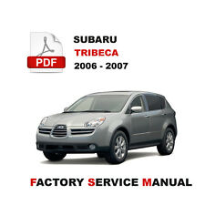 factory service repair manual ebay stores rh ebay com 2006 subaru tribeca service manual 2008 subaru tribeca owner's manual
