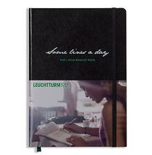LEUCHTTURM 1917 Cuaderno DIARIO 5 años Notebook A5 Tapas Duras NEGRO 343552 7065
