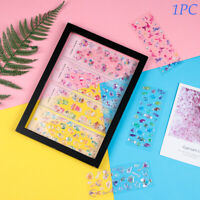 Adhesive Crystal Diamond Decorative Diary Album Label Stickers Scrapbooking