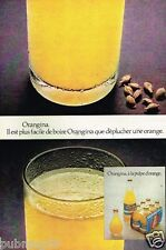 Publicité advertising 1972 Orangina
