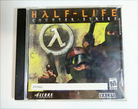 Half Life Counterstrike Jewel Case CDROM (2000) PC Windows W/CD key no Manual