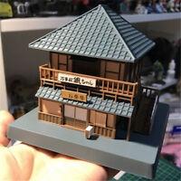 Gintama Sakata Gintoki Yorozuya DIY Assembling DIY House PVC Anime Figuren Figur