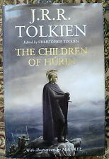 The Children Of Hurin by J. R. R. Tolkien (Hardback, 2007) illustrations A. Lee