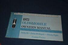 1972 Oldsmobile Delta 88 Delta 88 Royale Ninety Eight Custom Cruiser  - MANUAL