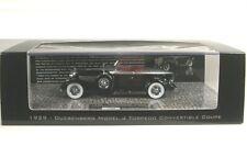 Duesenberg Modèle J Torpedo Convertible Coupé (noir/argent) 1929