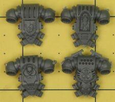 Warhammer 40K Ángeles de marines espaciales oscuro Ravenwing comando escuadrón mochilas