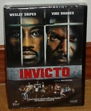 Invicta DVD New Sealed Action Drama Wesley Snipes (Unopened) R2