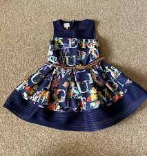 baker by ted baker girls Navy Floral Patterened Dress