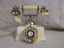 Vintage Cradle Rotary Dial Telephone