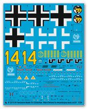Peddinghaus 1/32 1337 BF 109 F Hans Joachim Marseille dernière machine pour tromp