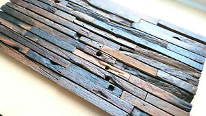 3D Reclaimed Wall Tiles, Wall Coverings, Wall Cladding, Panels, 3D Wooden Panels