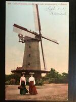 Vintage Postcard>1907>Dutch Windmill>Golden Gate Park>San Francisco>CA.