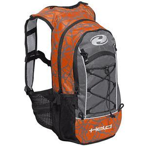 Held To Go Motorcycle Rucksack Orange Waterproof Bag Backpack Motorbike Touring