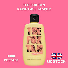 The Fox Tan RAPID FACE TANNER Accelerator 90ml UK Free Postage - Fast Shipping