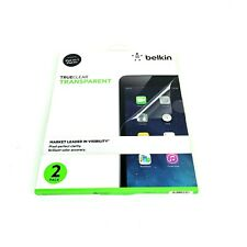 Belkin F7N078TT2 TrueClear Transparent Screen Protector for iPad Air 2 Clear