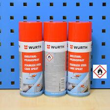 ( 20 / L) 2x400ml Würth acero Inox. - spray de cuidado limpiador enfermera