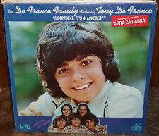 THE DE FRANCO FAMILY Heartbeat, It's a Lovebeat (1973 LP) SEALED w/Hype Sticker