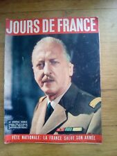 Jours de France N°36 - 1955 FETE DU 14 JUILLET - TOUR DE FRANCE BOBET- GUARESCHI