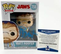 Richard Dreyfuss Autographed JAWS Matt Hooper Funko POP Signed BAS COA