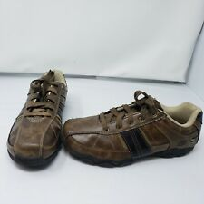 Youth Skechers Relaxed Fit Diameter Bennett Shoe 91630L Brown Size 6 EUC