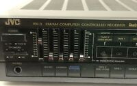 JVC RX-3BK Computer AM/FM Stereo Receiver Vintage Tested Ships Immediately!