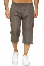 Pantalones cortos hombre 3/4 pantalón corto Bermuda 7/8 pantalón 2 longitudes