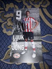 Signierte AK Luuk de Jong PSV EINDHOVEN NEU MEGA RAR