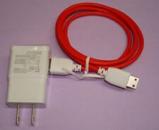 AC Wall Charger and Red Cable for FUHU Nabi Jr. & Nabi XD Nick Jr Tablet PC