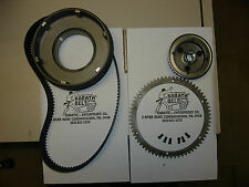 """""""NEW"""" GENUINE KARATA ENCLOSED 1.5"""" ELECTRIC BELT DRIVE 4 SPEED DRIVE for HARLEY"""