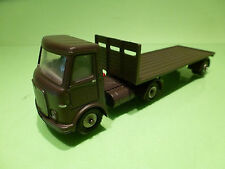 DINKY TOYS  - 915 AEC LORRY  - ARMY MILITARY  - CODE 3 RESTORED CONDITION