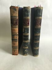 """Antique 1904 Set Of  Volumes """"Billiards,The Strokes Of The Game"""" By Riso Levi"""