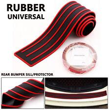 1X Car SUV Rear Bumper Sill/Protector Plate Rubber Cover Guard Pad Moulding Trim