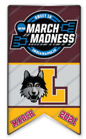 LOYOLA SWEET 16 FINAL FOUR 2021 LOGO PIN MARCH MADNESS NCAA COLLEGE BASKETBALL