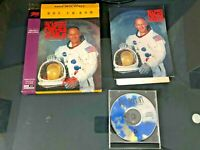 PC Buzz Aldrins Race Into Space BIG BOX CD ROM VIDEO GAME - *RARE*