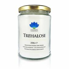 Trehalose Pure Powder Natural Sweetener & Sugar Alternative - 350g Glass Jar