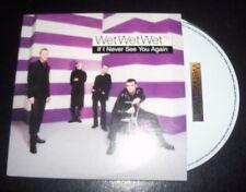Wet Wet Wet If I Never See You Again Australian Card Sleeve CD Single