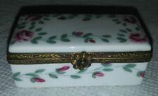 Vintage limoges france r.s Hand Painted trinket box
