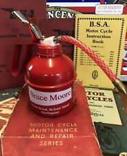 Bubble Bath Dispenser Retro Oil Can BSA Motorcycles Bruce Moores Hartlepoool