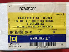 FA24060BC - SQUARE D - NEW - FACTORY SEALED - CIRCUIT BREAKER - FREE SHIPPING!!