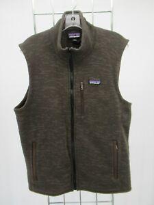 K1575 Patagonia Men's Full-Zip Better Fleece Vest Size L